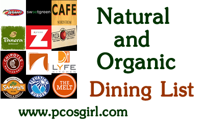 Natural and Organic restaurants and cafes 2016