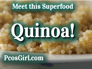Quinoa Recipes - PCOS Recipes - PCOS Girl